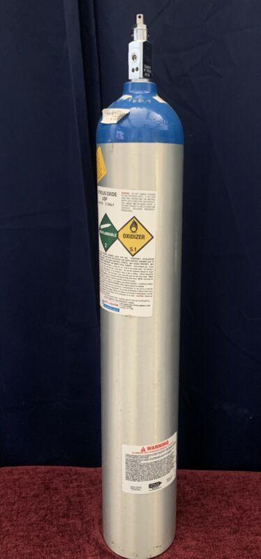 Dental/Medical Nitrous Oxide Gas Cylinder Tank Bottle Air Liquide, empty