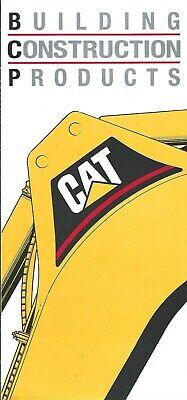 Equipment Brochure - Caterpillar - Building Construction Products E5030