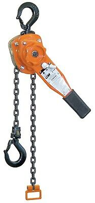 Columbus McKinnon Series 653 Lever Chain Hoist 1.5 Ton w/ 5' ft. lift part# 5315