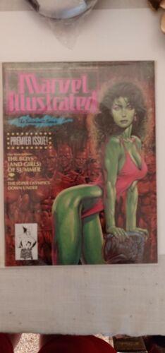 Marvel Illustrated Swimsuit Issue #1 (1991) Jim Lee Mike Mignola She-Hulk   A