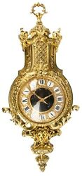 Tiffany Large Impressive  19th century  Cartel Wall Clock Rare