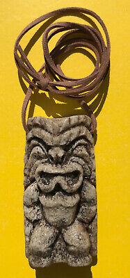 Greg BRADY BUNCH Cursed Tiki Idol Necklace (FROM ORIGINAL MOLD) TV Prop Hawaii