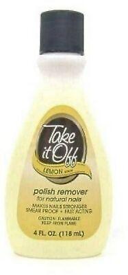 TAKE-OFF Nail Polish Remover Lemon 4 oz