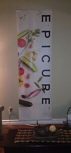 Epicure Trade Show Banner & Stand