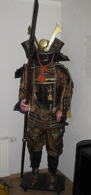 "Samurairüstung Japan "" Oda Nobunaga"" Samurai Rüstung komplett zum anziehen Nr.3"