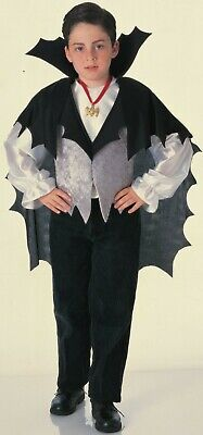 Classic Vampire Child Halloween Costume (Vampire Costume Classic Kids Halloween Costume Child Size Large)