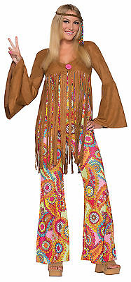 Adult  60s 70s Hippie Groovy Sweetie Go - 70's Mod Kostüme