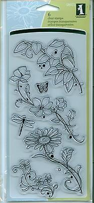 Beauty Stems - INKADINKADO clear stamp set BEAUTY STEMS Flowers Branches