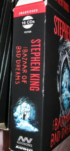 "Stephen King Audiobook 16 CD""S Unabridged The Bazaar of Bad Dreams"