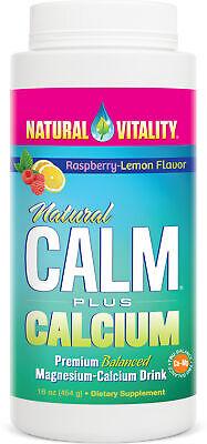 Calm, Plus Calcm Rasp/Lem, 16 oz