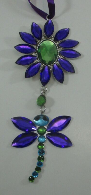 zzi Dragonfly Garden pendant CRYSTAL EXPRESSIONS Ornament Sun catcher