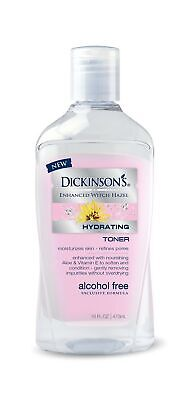 Dickinson's Enhanced Witch Hazel Alcohol Free Hydrating Toner 16 Fluid Ounce