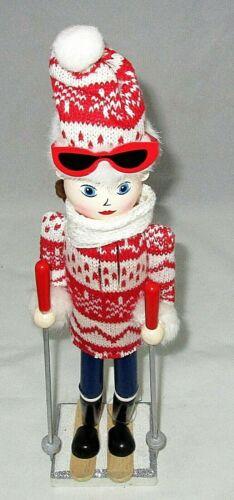 "CHRISTMAS NUTCRACKER 15""  FEMALE SKIER"