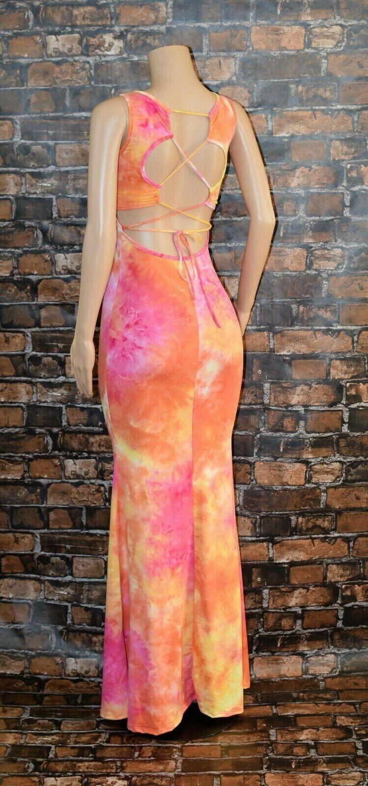 Maxi Dress Tie Dye 6