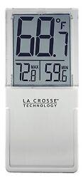 K84377 La Crosse Technology Indoor/Outdoor Window Thermometer
