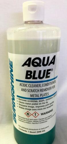 Burnishine Aqua Blue Cleaner, Conditioner & Scratch Remover   P7