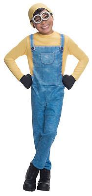 Minion Bob Kinder Kostüm Jungen Film Rubies 610784 Overall Gelb Halloween