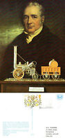 28 July 1981 George Stephenson Centenary Postcard Exhibition Slogan P/m -  - ebay.co.uk