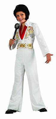 Elvis Presley Kids Costume White