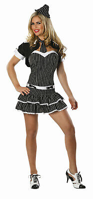 Delicious Women's Criminal Intent Sexy Adult Gangster Costume XS/SM 0-2](Gangster Costumes Women)