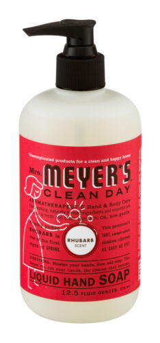 Mrs. Meyer's - Clean Day Liquid Hand Soap Rhubarb - 12.5 oz.
