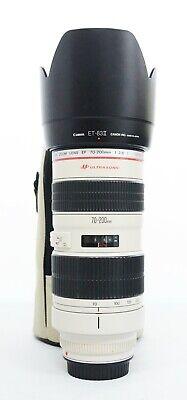 """# Canon EF 70-200mm f/2.8 USM Lens """"UC"""" S/N 399249"""