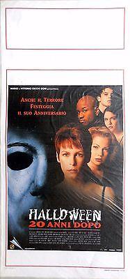 Non Halloween Posters (locandina playbill CINEMA HALLOWEEN 20 ANNI DOPO HORROR)