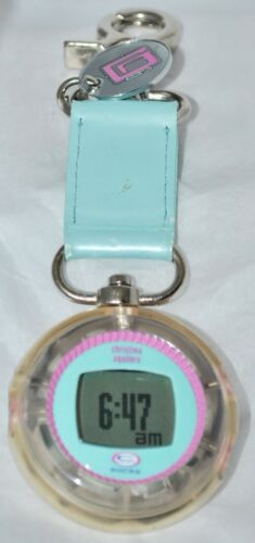 Christina Aguilera 1999 C Animated ROCKS LCD Clip Watch Plays Genie in A Bottle