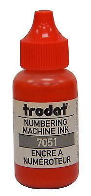 Trodat Numbering Machine Ink Red
