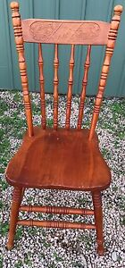 Wooden Chair - pickup only Buronga Murray-Darling Area Preview