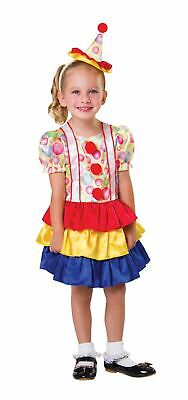 Girls Clown Costume Kids Circus Fancy Dress Outfit Book Week Story Dressup](Girls Clown Outfit)