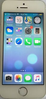 iPhone 5s 16gb white/silver
