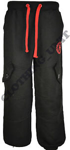 J3 Mens 'HLY' Jogger Bottoms Trousers Casual Fleece Tracksuit Jog Pants