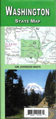 State map of Washington, by GMJ Maps