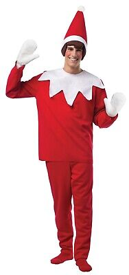 Rasta Imposta Elf on a Shelf Adult Halloween Christmas Holiday Costume GC4329](Elf On Shelf Halloween Costume)