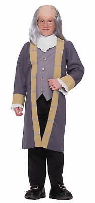 FORUM BENJAMIN FRANKLIN BEN FRANKLIN HALLOWEEN COSTUME CHILD SMALL 63885