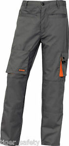 Panoply m2paw grey mach2 mens warm lined winter work trousers pants