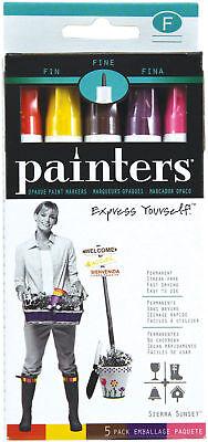 Elmer's Painters Opaque Paint Markers - Fine Tip - 5 pack - Sierra Sunset - 4213