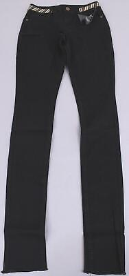 Alloy Apparel Women's Tall & Fierce Beaded Detail Jeans GS2 Black Size 4x37 NWT (Alloy Clothing Tall)