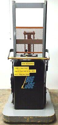 Big Joe 1018-a7 S Electric Pallet Jack 1000-lbs Capacity