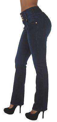 Colombian Design, Butt Lift, High Waist, Boot Leg Jeans