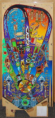 Williams - Monster Bash Pinball Playfield NOS  - Non Clear Coat