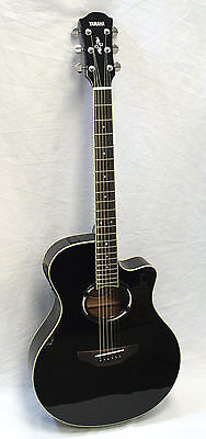 Yamaha APX500II Black Thinline Acoustic Electric Guitar on Rummage
