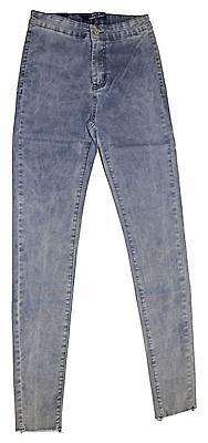 Jeans Pants Leggings Skinny Slim Woman High Waist Strech Stockings Fringed Torn](Torn Stockings)