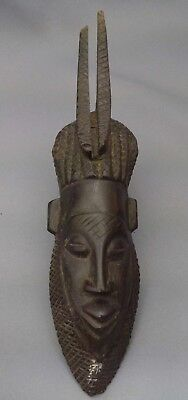 Lovely Mask African Wooden Exotic (3)