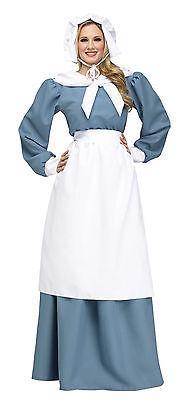 Adult Pilgrim Lady Thanksgiving Pioneer Costume ](Adult Pilgrim Costume)