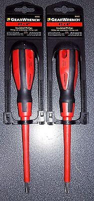 """Gearwrench 80082 #2 x 4"""" Insulated Phillips Screwdriver 2PCS"""