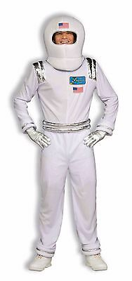 Mens Astronaut Costume White Moon Walker Space Cadet Outfit Halloween Adult NEW](Moon Man Costume)