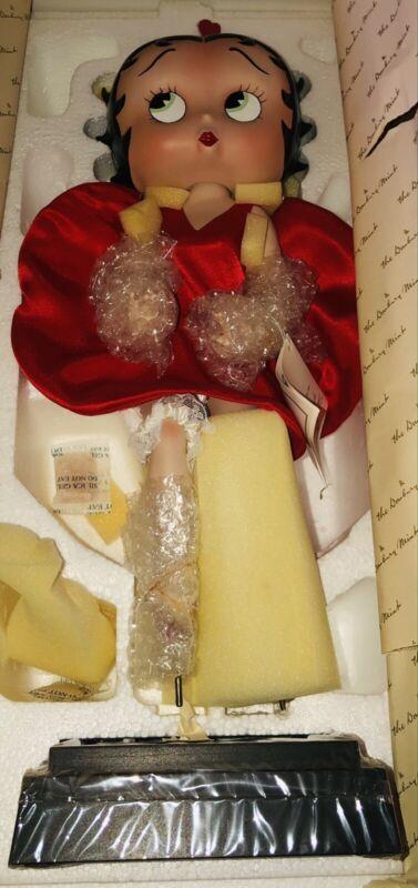 1995 Betty Boop Porcelain Collector Doll Danbury Mint NIB