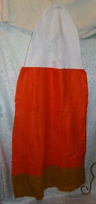 Homemade Halloween Costume (Candy Corn Adult Halloween Costume Homemade Novelty Funny One)
